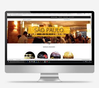 Site São Paulo Pizzaria